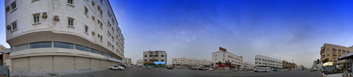 Street in south jeddah Royalty Free Stock Photo