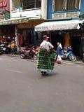 Street Souvenirs Seller in Saigon, Ho Chi Minh, Vietnam Stock Photography
