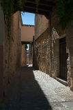 Street spain. Old medieval street spain (Europe Stock Photography