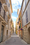 Street in spain. Usual tiny street in spain Stock Photos