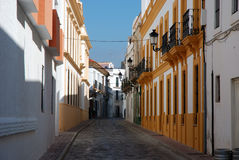 Street in the Spanish town. Tarifa Stock Photography