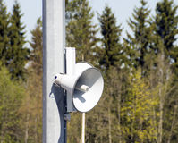 Street speaker Stock Photos