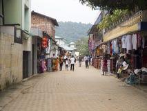 Street in Sri Lanka Royalty Free Stock Photos