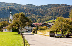 Street in St. Gilgen, Austria Stock Images