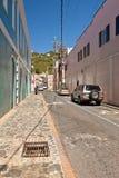 Street in St. Maarten Stock Photo