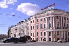 Street of St. Petersburg Royalty Free Stock Photography