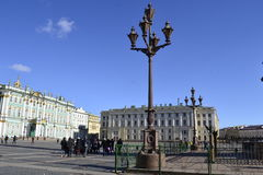 Street of St. Petersburg. View of this beautiful russian city Stock Photography