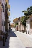 Street - St. Teresa, Sardinia, Italy Royalty Free Stock Photography