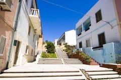 Street - St. Teresa, Sardinia, Italy Stock Image