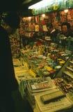 Street stall in Paris, France. Stock Photos