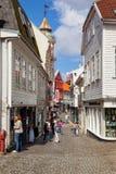 Street in Stavanger Royalty Free Stock Images