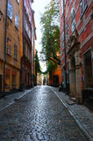 Street of Stockholm-Sweden Royalty Free Stock Photos