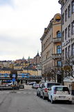 street of stockholm Stock Photos