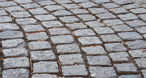 Street Stone. In a wavy pattern stock images