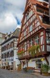 Street in Strasbourg, France Royalty Free Stock Photo