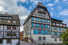 Street in Strasbourg, France Royalty Free Stock Images