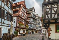 Street in Strasbourg, France Stock Images