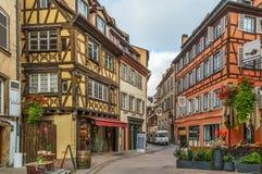 Street in Strasbourg, France Royalty Free Stock Photos