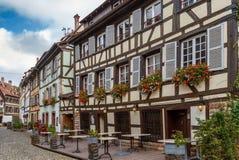 Street in Strasbourg, France Stock Photography