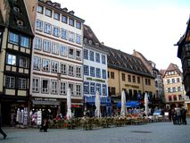 Street in Strasbourg Royalty Free Stock Photography