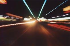 Street streaks Stock Image