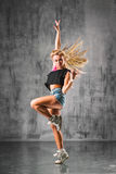 Street style dancer Royalty Free Stock Photo