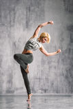 Street style dancer Royalty Free Stock Images