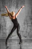 Street style dancer Stock Images