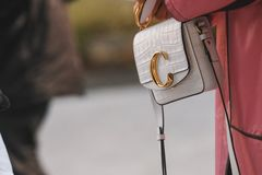 Street Style Details Stock Photography