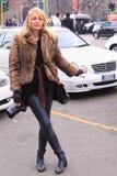 Street style fashion photographer Stock Image