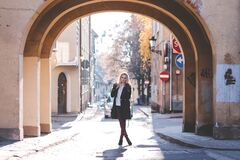 Street style shoot Royalty Free Stock Images