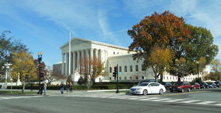 From Street Supreme Court of the United States Royalty Free Stock Photos