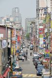 Street of Suwon city in Korea Stock Photography