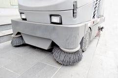 Street sweep car Stock Image