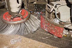 Street sweeper Stock Images