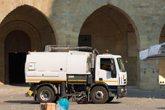 Street Sweeper Machine - Pistoia Italy Royalty Free Stock Image