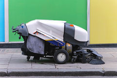 Street sweeper Royalty Free Stock Image
