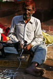 Street tailor Royalty Free Stock Image