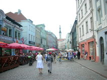 Street of Tallin Stock Images