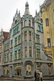 Street of Tallinn. Stock Image