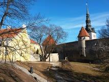 Street in Tallinn Stock Photography