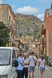 Street of Taormina Royalty Free Stock Image