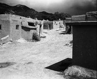 Street In The Taos Pueblo Stock Images