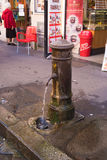 Street tap in rome royalty free stock image