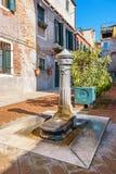 Street tap. Venice, Italy Royalty Free Stock Photo