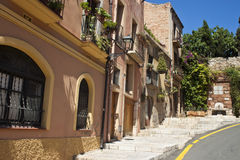 Street in Tarragona Stock Images