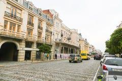 Street in Tbilisi, Georgia. Royalty Free Stock Photos