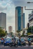 Street in Tel Aviv Stock Photo