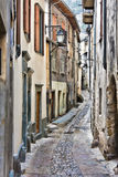 Street in Tende Royalty Free Stock Photography