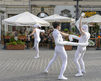 Street Theater festival in Krakow Stock Photography